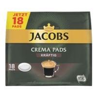 Jacobs 18er-Pack Kaffeepads »Crema Kräftig«