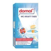domol WC-Kraft-Tabs »3-Phasen Power« 16 Stück