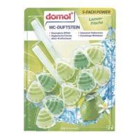 domol WC-Duftstein »5-fach Power« Lemonfrische