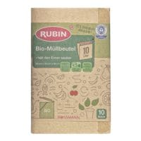 RUBIN Bio-Müllbeutel 10 L braun - 10 Stück
