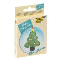 folia 6-Pack Mini Filzinies »Christbaum«