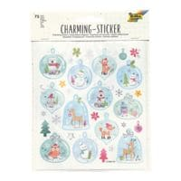 folia Charming Sticker-Set »Christmas«