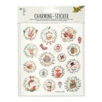 folia Charming Sticker-Set »Christmas 3«