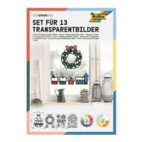 folia Transparent-Bilder Bastelset »Winter«