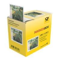 Deutsche Post Markenbox Gogh-Mohnfeld, 100x Briefmarke im Abrollspender zu 1,55 € selbstklebend
