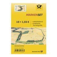 Deutsche Post Markenset Grünes Band, 10x Briefmarke zu 1,55 € selbstklebend