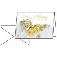 Weihnachtskarte SIGEL Christmas Present, A6 quer, mit Umschlag, 10 Stück