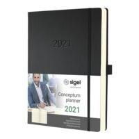 Sigel Wochenkalender »Conceptum 2021 A4+«