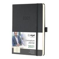 Sigel Tageskalender »Conceptum 2021 A5«