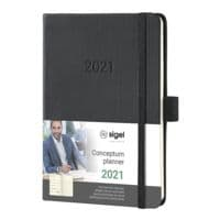 Sigel Wochennotiz-Kalender »Conceptum 2021 A6«