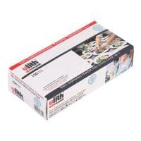 100 Ulith Einmalhandschuhe Vinyl puderfrei, Größe L transparent