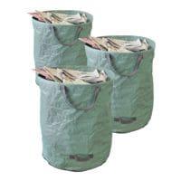 Tercasa 3er-Pack Gartensäcke 272 Liter