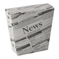 Papstar Pommes-Schütte »Newsprint« 1200 ml, 500 Stück
