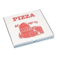 Papstar Pizzakartons, 33 x 33 cm, 100 Stück