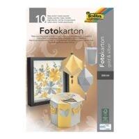 folia Fotokartonblock DIN A4 »gold - silber«