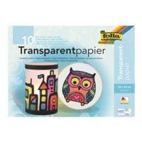 folia Transparentpapierheft, 10 Blatt