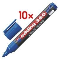 Edding 10x Whiteboard Marker »360«