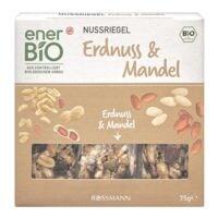 enerBIO 3er-Pack Nussriegel »Erdnuss & Mandel«