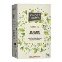 Kings Crown Bio Grüner Tee »Jasmin« Tassenportion 20er-Pack
