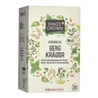 Kings Crown Bio Kräutertee »Bergkräuter« Tassenportion, 20er-Pack