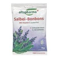 altapharma Zuckerfreie Salbei-Bonbons mit Vitamin C