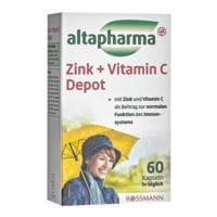 altapharma Zink + Vitamin C Depot - 60 Stück