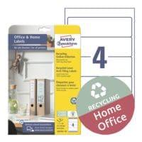 Avery Zweckform 40er-Pack Recycling Ordner-Etiketten