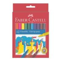 Faber-Castell (Schule) 12er-Pack Filzstifte farbsortiert