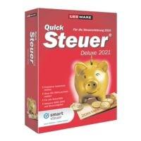 Kaufmännische Software Lexware QuickSteuer Deluxe 2021 Deluxe
