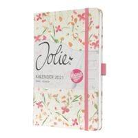 Sigel Wochenkalender »Jolie®« 2021 A5 bloom pink