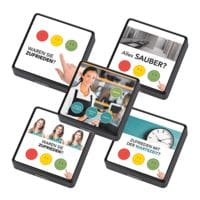 ratiotec CONNECT Call Button »CONNECT ID Gastro Standard« schwarz