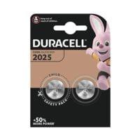 Duracell 2er-Pack Knopfzellen CR2025