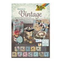 folia 5er-Pack Motivblock »Vintage«