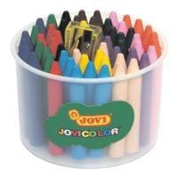 JOVI 60er-Pack Wachsmalstifte »JOVIcolor« inkl. Anspitzer
