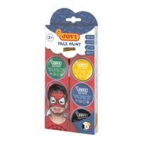 JOVI Gesichtsfarbe-Set »Face Paint HEROES« 6x 8 ml