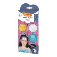 JOVI Gesichtsfarbe-Set »Face Paint PRINCESS« 6x 8 ml