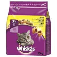 whiskas Trockenfutter »Adult 7+ mit Huhn« (800 g)
