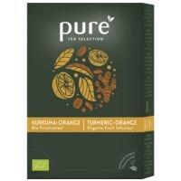 Pure Tea Selection Früchtetee »Selection Kurkuma Orange Bio« Tassenportion