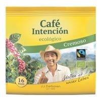 JJ.Darboven 16er-Pack BIO-Kaffeepads »Café Intención ecológico Cremoso«