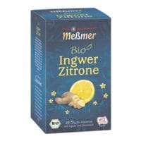 Meßmer BIO Kräutertee »Ingwer Zitrone« Tassenportion, Papierkuvert, 20er-Pack