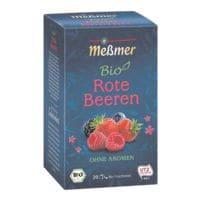 Meßmer BIO Früchtetee »Rote Beeren« Tassenportion, Papierkuvert, 20er-Pack