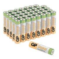 GP Batteries 40er-Pack Batterien »Super Alkaline« Micro/ AAA / LR03