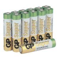 GP Batteries 12er-Pack Batterien »Super Alkaline« Micro/ AAA / LR03