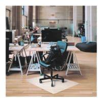 Bodenschutzmatte für Hartböden, Polypropylen, Rechteck 117 x 90 cm, Floortex Revolutionmat