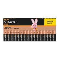 Duracell 32er-Pack Batterien »Plus« Mignon / AA / LR06