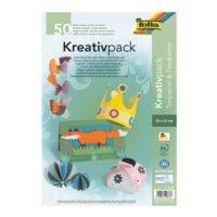 folia Tonpapier- und Fotokarton-Set »Kreativpack« 23 x 33 cm - 25 Farben (50 Blatt)