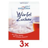 Südzucker 3x Würfelzucker