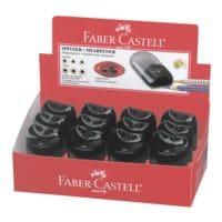 Faber-Castell 12er-Pack Doppelspitzdose, schwarz