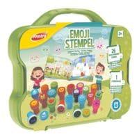 Joustra Emoji-Stempel im Kunststoffkoffer