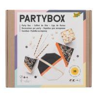 folia Einweggeschirr Party-Box »Adults« 36-teilig